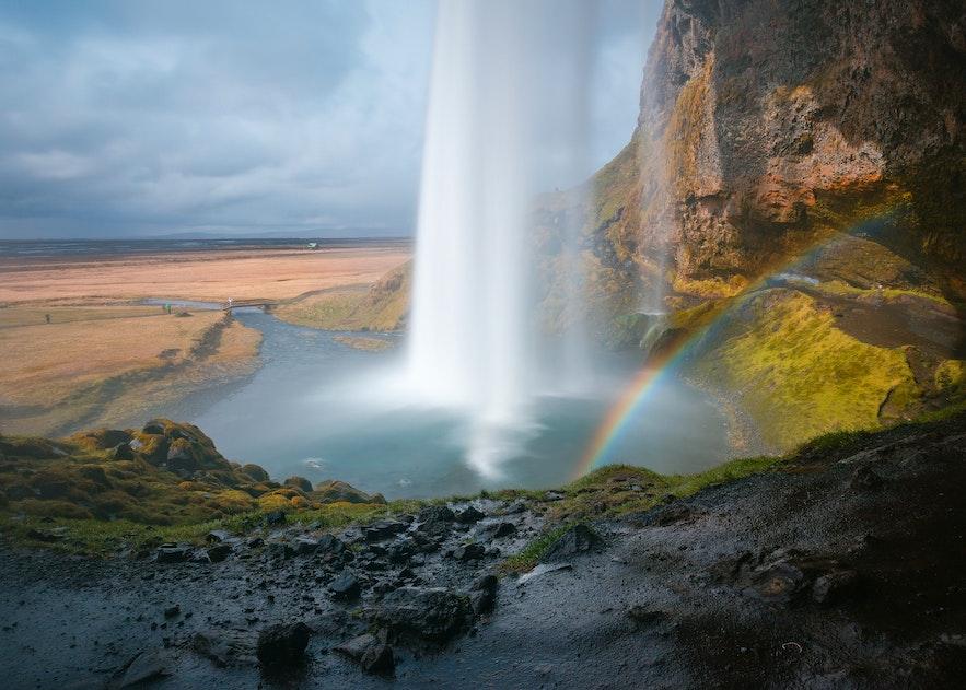冰島塞利亞蘭瀑布