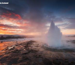 Viaje de 4 días a tu aire en invierno | Círculo Dorado, glaciares y playas de arena negra