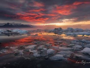 セルフドライブツアー3日間 | ゴールデンサークルからヨークルスアゥルロゥン氷河湖へ