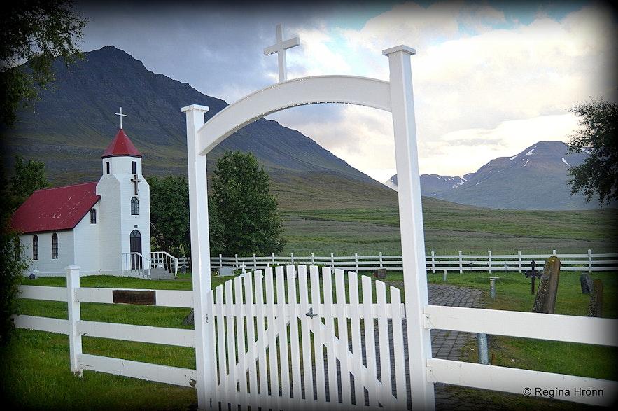 Flugumýri in Skagafjörður - Flugumýrarkirkja church