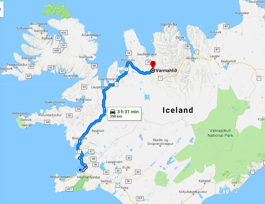 The Horrific Viking Battles in Skagafjörður, North-Iceland