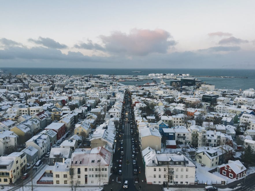Reykjavík holds the honour of being the world's most densely populated toilet.