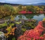 See the volcanic lava landscapes of Þingvellir National Park on a Golden Circle tour.