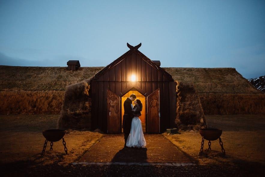 冰島教堂婚禮