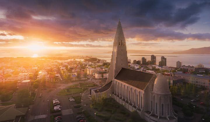 4-dniowa letnia, samodzielna wycieczka po islandzkim Złotym Kręgu i południowym wybrzeżu z zakwaterowaniem w Reykjaviku
