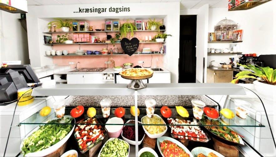 The inviting selection at Krúska.