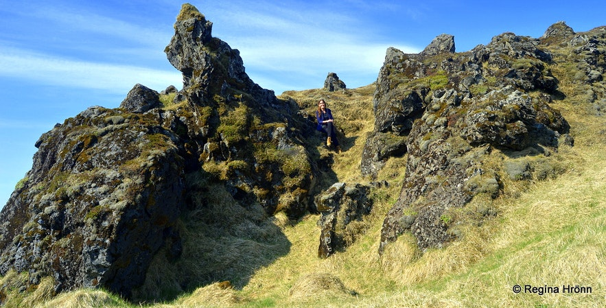 Regína by the Elf Church by Hotel Laki in South-Iceland