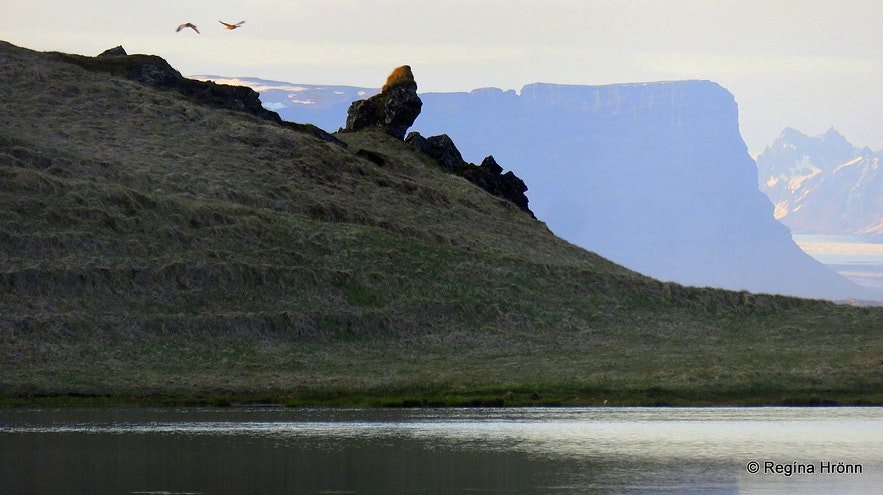 Elf City and Elf Church by Hotel Laki in South-Iceland