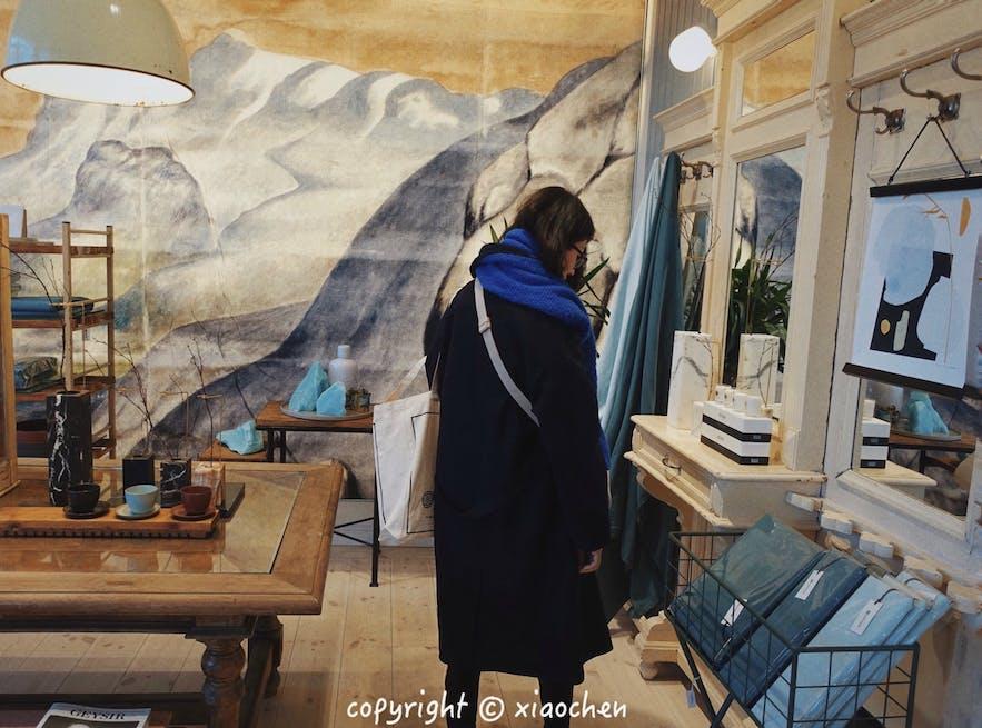 冰岛设计品牌Geysir的家具店装潢无比精致