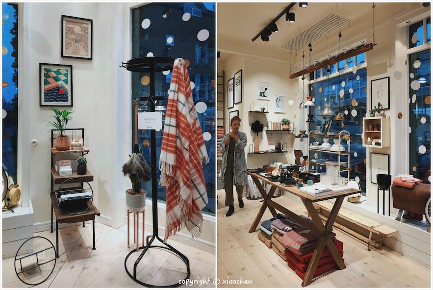 冰岛设计品牌Geysir的家具店摆设的非常漂亮