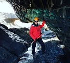 Wycieczka do jaskiń lodowych z Vik, na południu Islandii