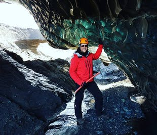 Ice caving tour from Vik in South Iceland