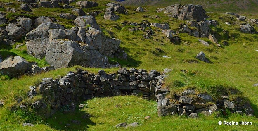 Flókatóftir - the ruins of Hrafna-Flóki in the Westfjords