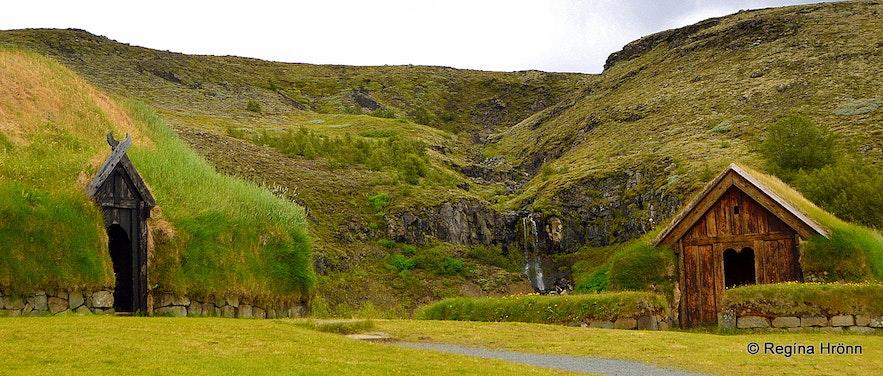 Þjóðveldisbærinn reconstructed Viking farm in Þjórsárdalur valley