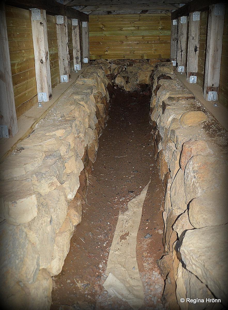 Reykholt underground passage of Snorri Sturluson