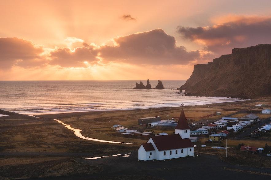 冰島南部維克鎮