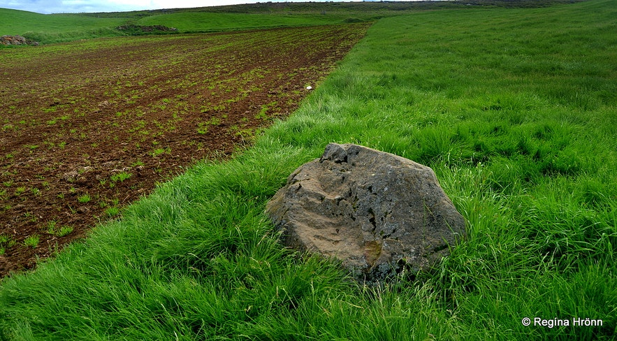 Grave of the head of Grettir