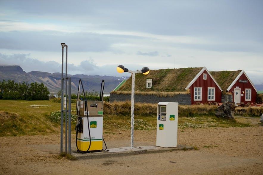 冰島加油站