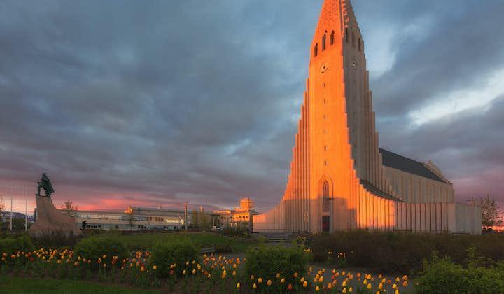 Hallgrímskirkja, the Lutheran church in Reykjavík, is arguably the city's most recognisable cultural landmark.