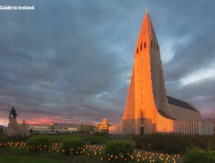 Hallgrímskirkja, the Lutheran church in Reykjavík, is arguably the city's most recognisable cultural landmark.