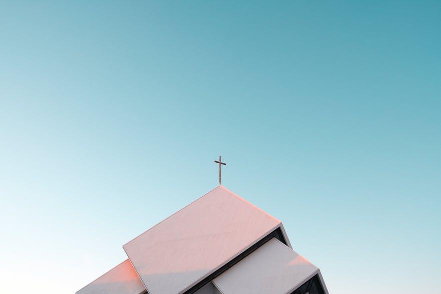 冰島的日落