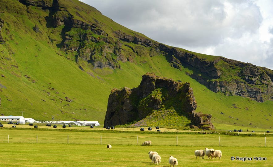 Drangurinn in Drangshlíð and the Elves in South-Iceland - Icelandic Folklore