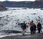 Iceland's glaciers are vast and spectacular, and you must visit with a guide and all the necessary equipment.
