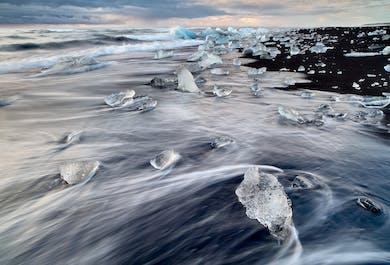 2 dni na południowym wybrzeżu   Wędrówka po lodowcu, Jokulsarlon, wrak samolotu DC-3