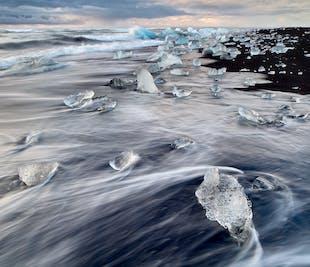 2 dni na południowym wybrzeżu | Wędrówka po lodowcu, Jokulsarlon, wrak samolotu DC-3