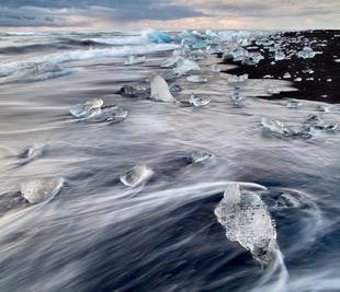 2 Day South Coast, Jokulsarlon Glacier Lagoon and Glacier Hiking Tour