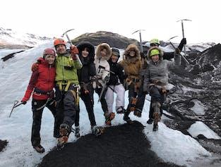 南海岸+ソゥルヘイマヨークトル氷河ハイキング|小型バス