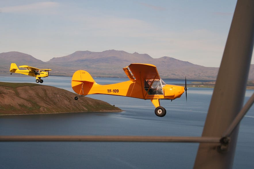 An Ultralight Buggy Aircraft, used for training pilots... and as a fun activity for guests!