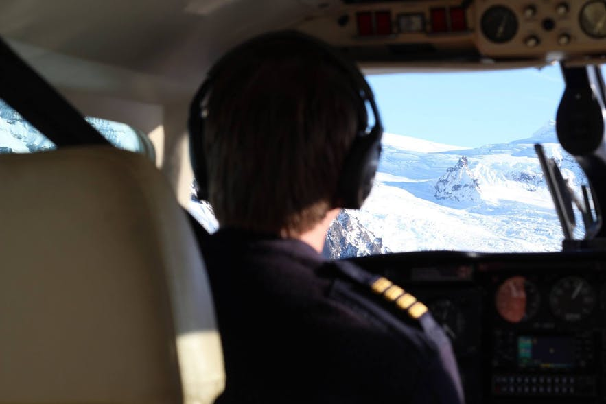 You're in safe hands with your pilot... with years of experience, these people know the best spots and flight routes.