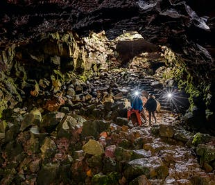 뢰이파르홀스헤들리르 용암 동굴 탐험   레이캬비크 출발