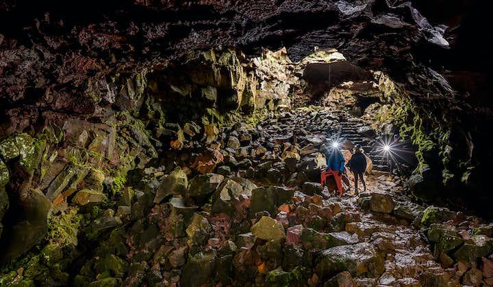 Лавовый туннель Рёйвархоульсхетлир   Тур из Рейкьявика