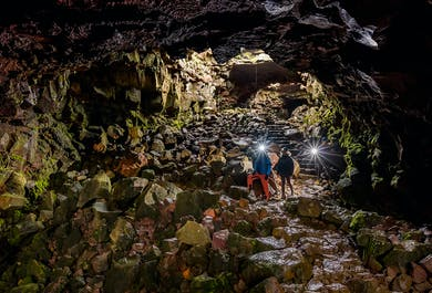 Tunel lawowy Raufarholshellir | Wyjazd z Reykjaviku