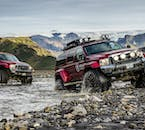 The Super Jeep is more than capable of making glacial river crossings—in fact, it is one of the most exciting moments on the tour!