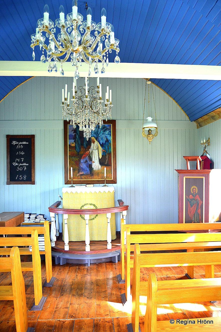 Ketukirkja church at Skagi N-Iceland