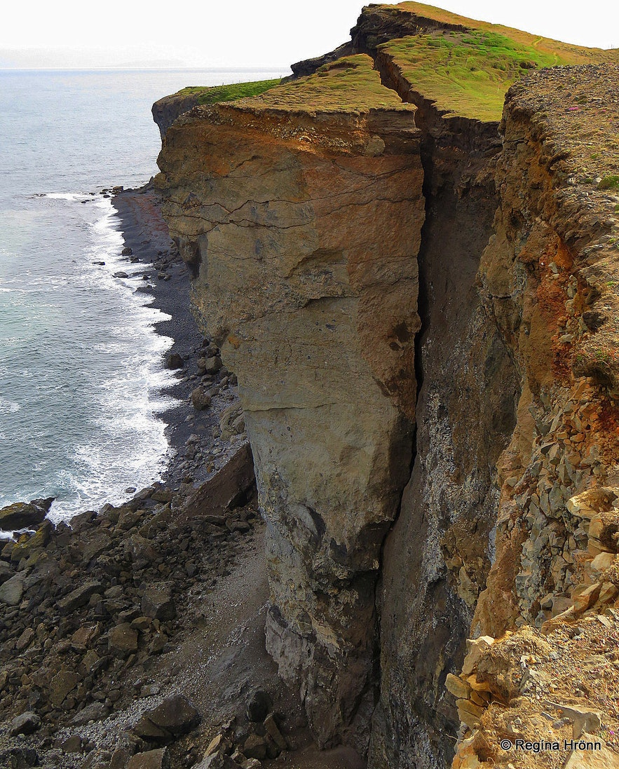 Ketubjörg Cliffs and Dalshorn at Skagi in North-Iceland