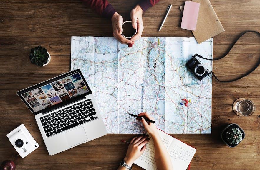 Planowanie podróży.