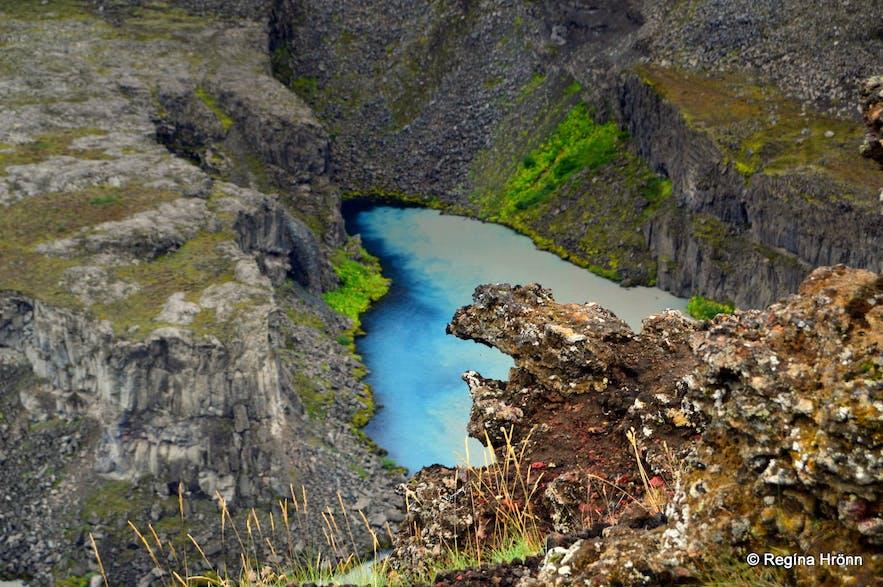 Hafragilsundirlendi from the east bank