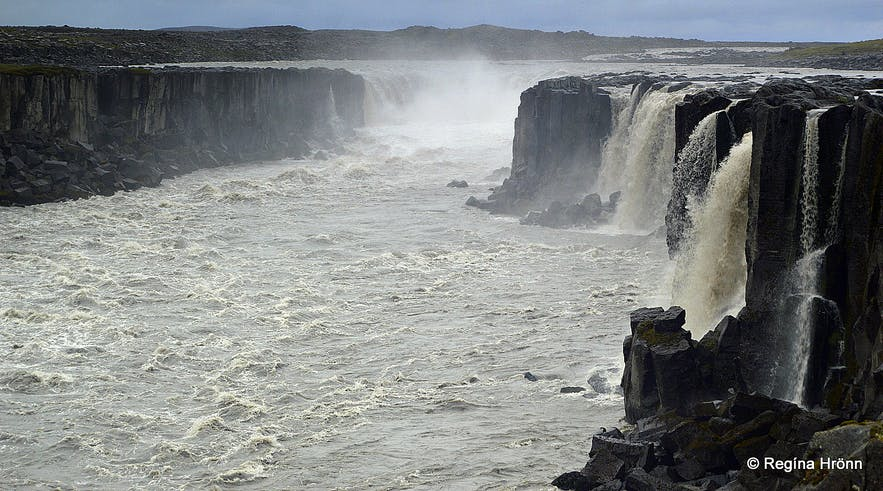 Selfoss as seen from the west bank