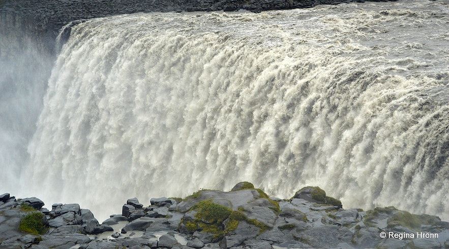 Dettifoss from the west bank