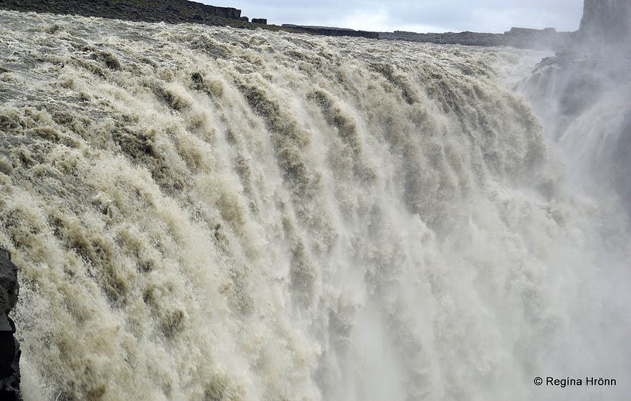 Dettifoss from the east bank