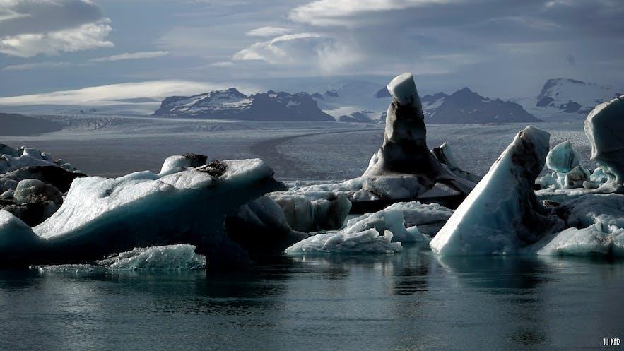 lagune de glacier Jokulsarlon