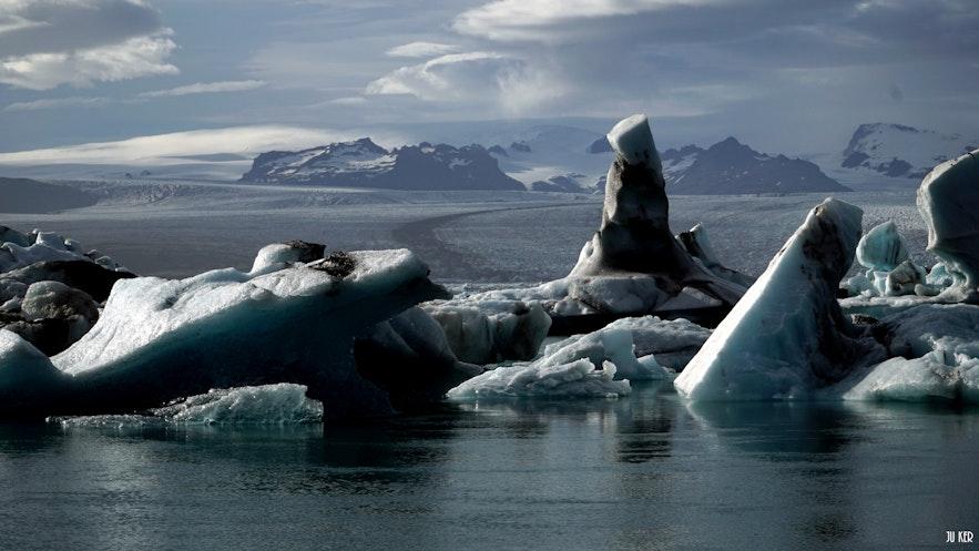 Jokulsarlon : un site incontournable en Islande