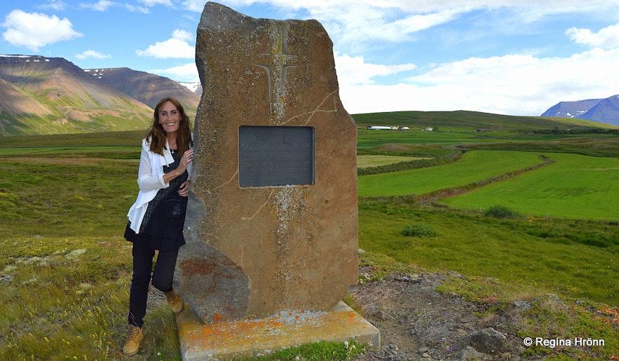 Hjaltadalur valley monument