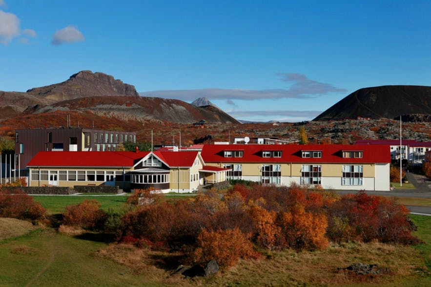 Bifrost University can found approximately 110 km north of Iceland's capital city.
