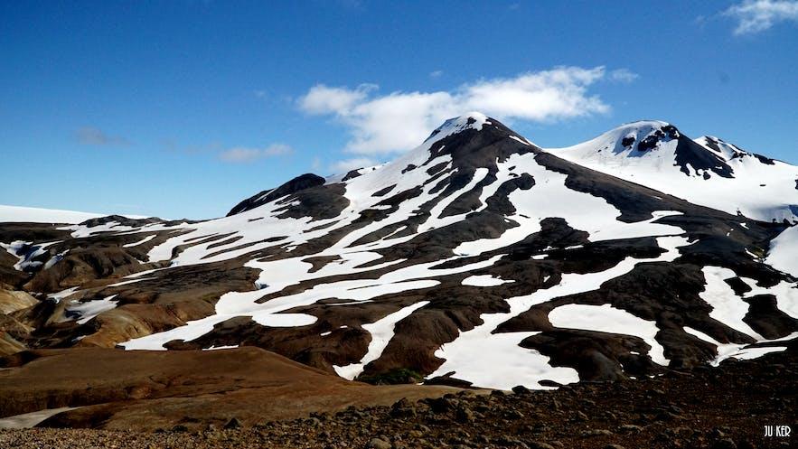 Montagne au Kerlingarfjöll