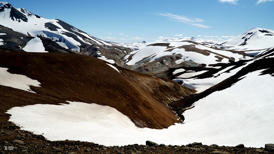 Kerlingarfjöll, the land of ice and fire in the Highlands
